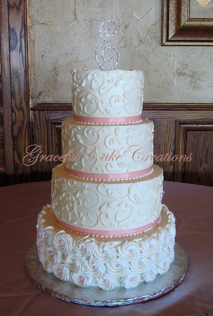 Simple Wedding Cake Design Ideas
