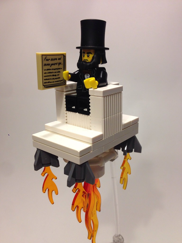 Abraham Lincoln Flying Chair The Lego Movie Mbl