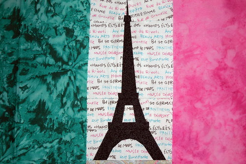 Vive la France en vert et rose