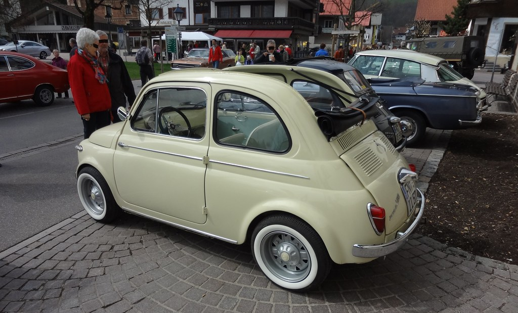 fiat 500 1957 cabrio foto 2 gesehen am a flickr. Black Bedroom Furniture Sets. Home Design Ideas