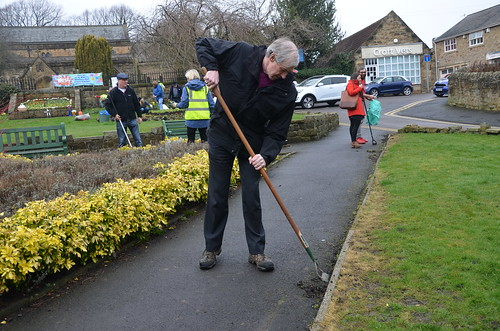 Planting Up Whickham March 2017