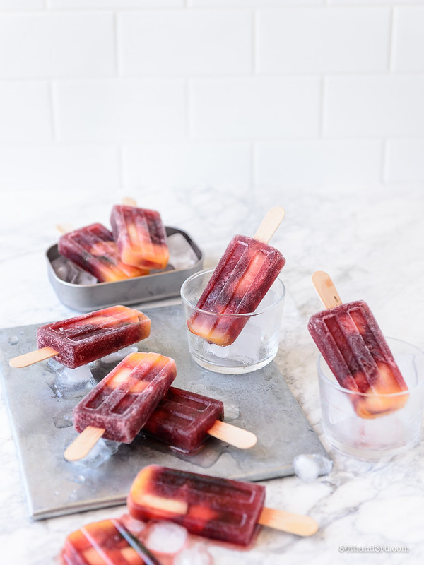 Summer Sangria Popsicles