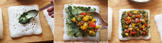 How to make Grilled dosa sandwich recipe - Step5
