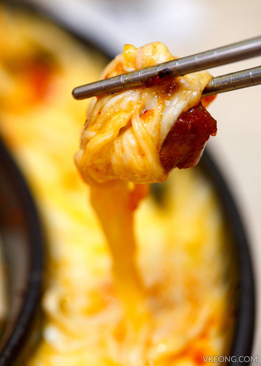 Omaya Korean Spiced Chicken with Cheese