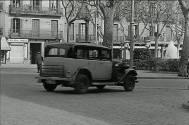 1935 Citroën 11 UA Conduite Intérieure Commerciale