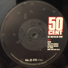 50 CENT:GET RICH OR DIE TRYIN'(LABEL SIDE-A)