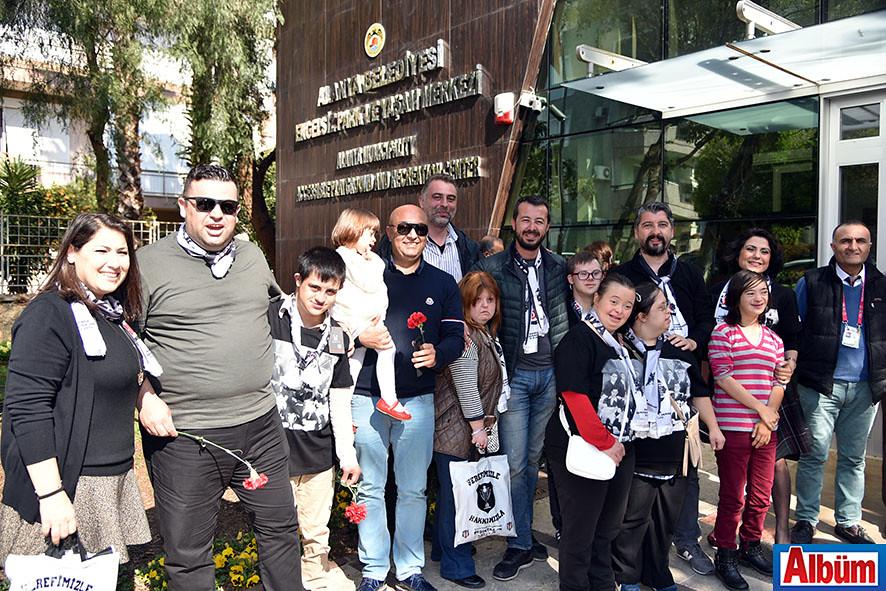 Alanya Beşiktaşlılar Derneği Down Sendromlu çocuklar ile bir araya geldi.