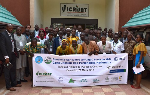 Sen2-Agri Mali National Stakeholders Consultation, ICRISAT Bamako – 21 March 2017. Photo: D Dembele (CCAFS) | by CGIAR Climate