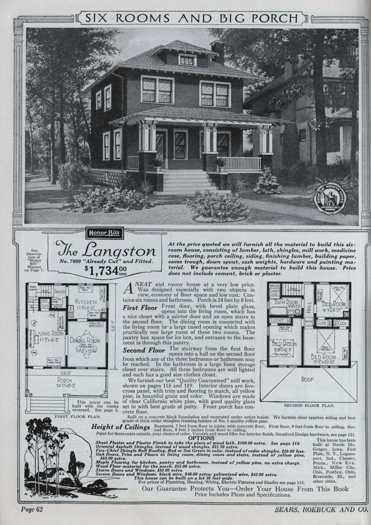 ... 1921 Sears Modern Homes | By Daily Bungalow