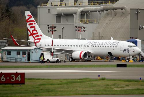 "Boeing 737-8FE(WL) Virgin Australia VH-YFX ""Mackenzies Bay"" LN6330"