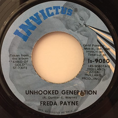 FREDA PAYNE:UNHOOKED GENERATION(LABEL SIDE-A)