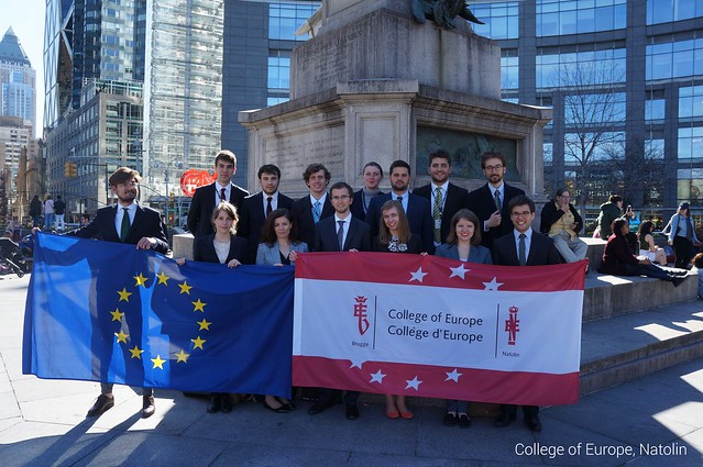 Natolin student delegation at New York National Model United Nations.7 April - 14 April 2017