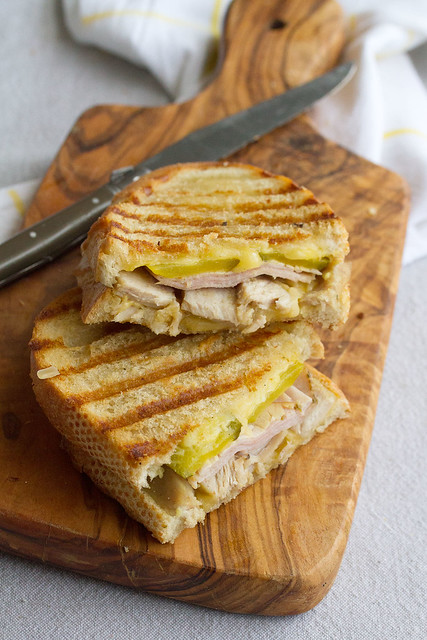 Cubano Grilled Cheese