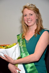 Skye Chadwick, representing the Hutt Valley Irish Society