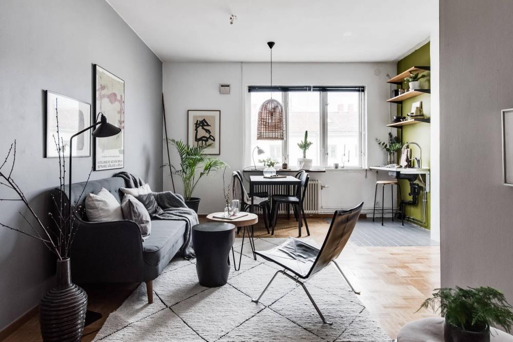 decor, glamorous apartment, home, minimal apartment, minimal home design, minimal interior, minimal style, scandinavian apartment, scandinavian design, scandinavian kitchen, small apartment style, white kitchen,