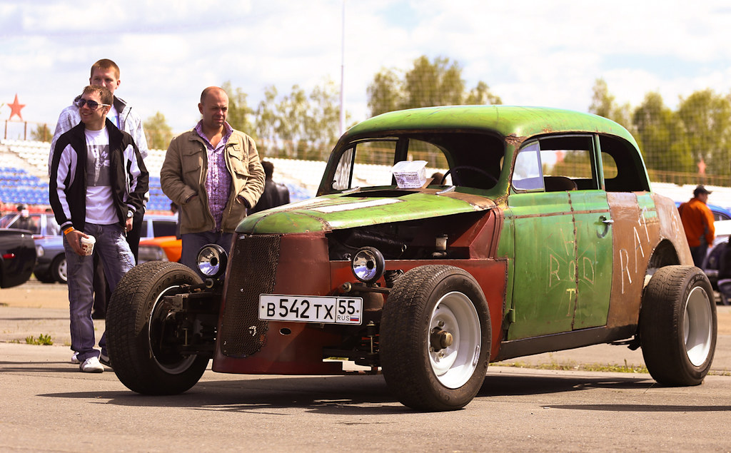 The hot rod   What car do you think is used to be the base f…   Flickr