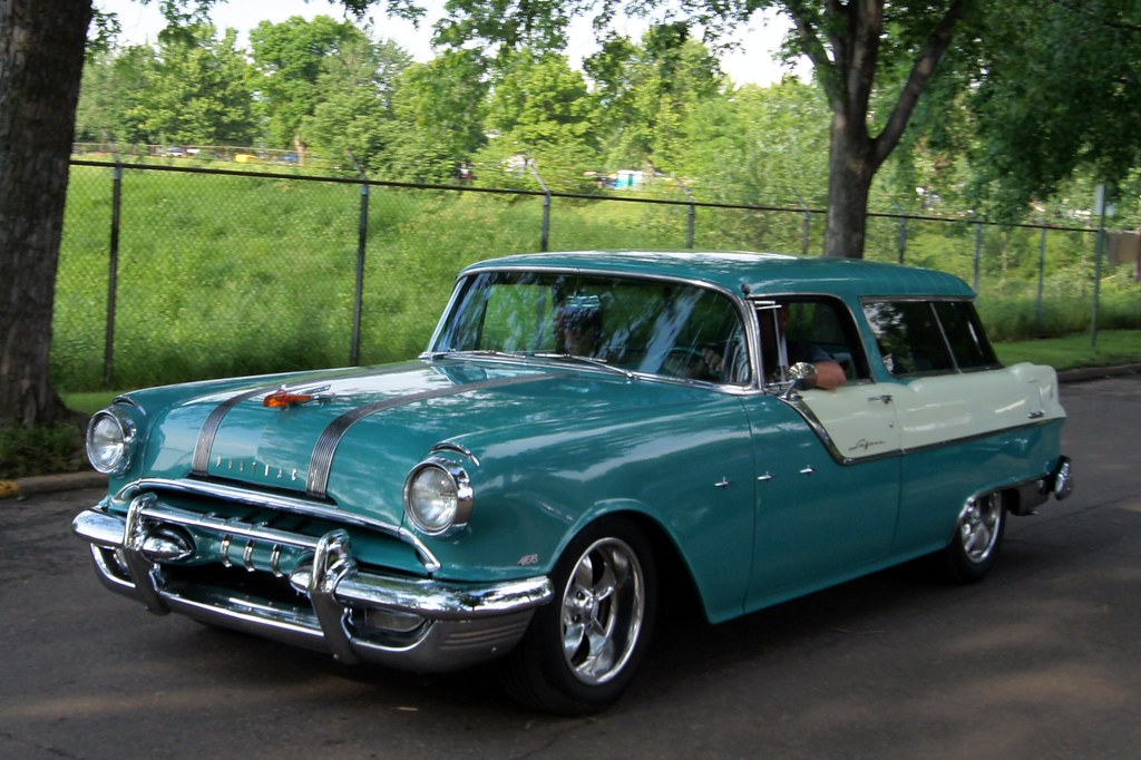 "Chevy Muscle Cars >> 55 Pontiac Safari | MSRA ""BACK TO THE 50′s"" 40th ANNIVERSARY… 