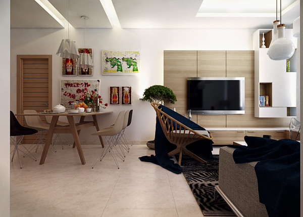 small-modern-apartment-1 | Home Designing | Flickr