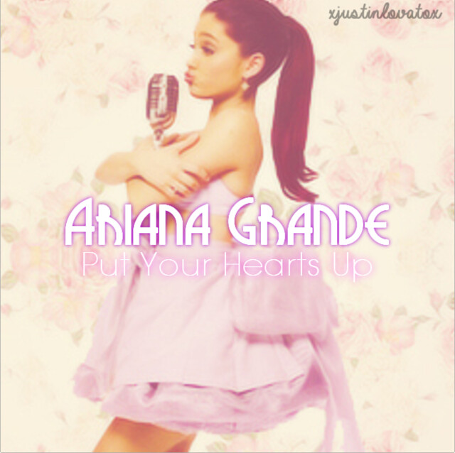 ariana grande put your hearts up album cover wwwimgkid