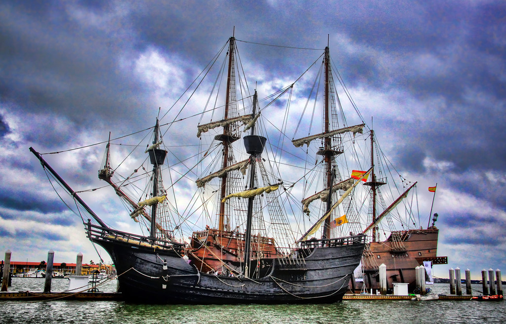 Nao Victoria and El Galeon Spanish Tall Ships | Two Spanish ...