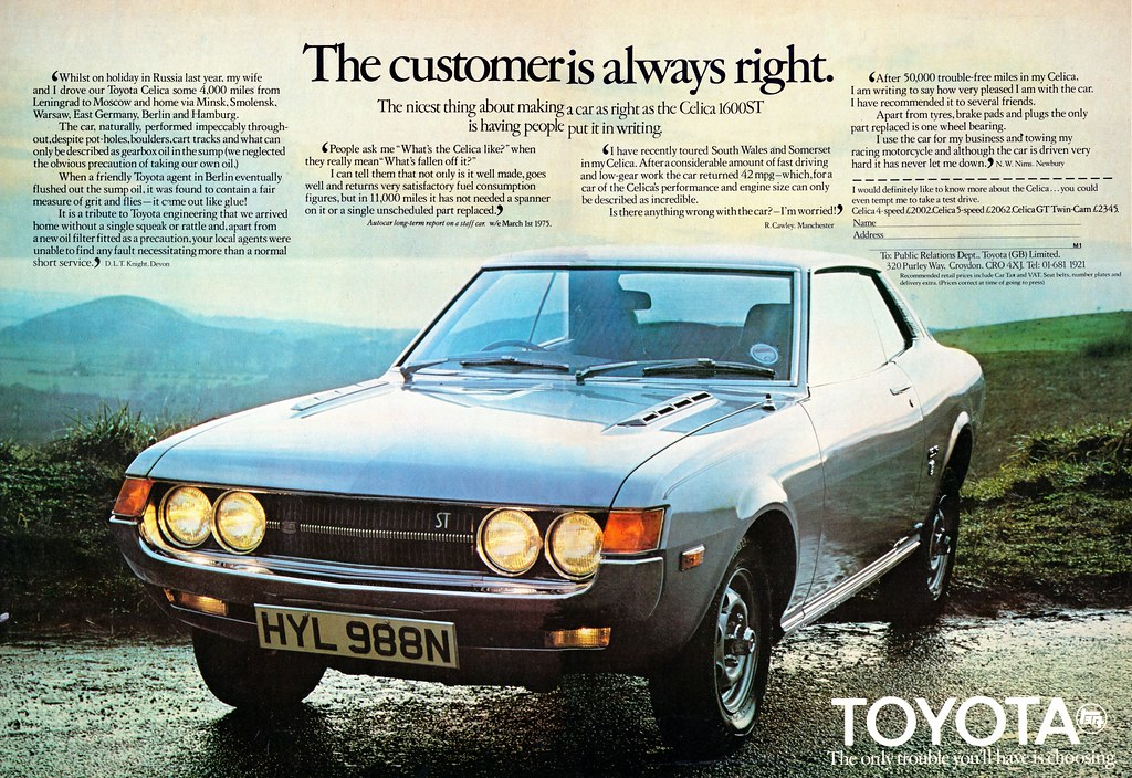 Toyota Celica Ta22 St 1975 Ta22 Uk Celicacity Flickr