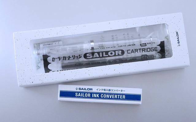 SAILOR セーラー万年筆 レクル 透明感 スケルトン 初めての1本 4901680130796