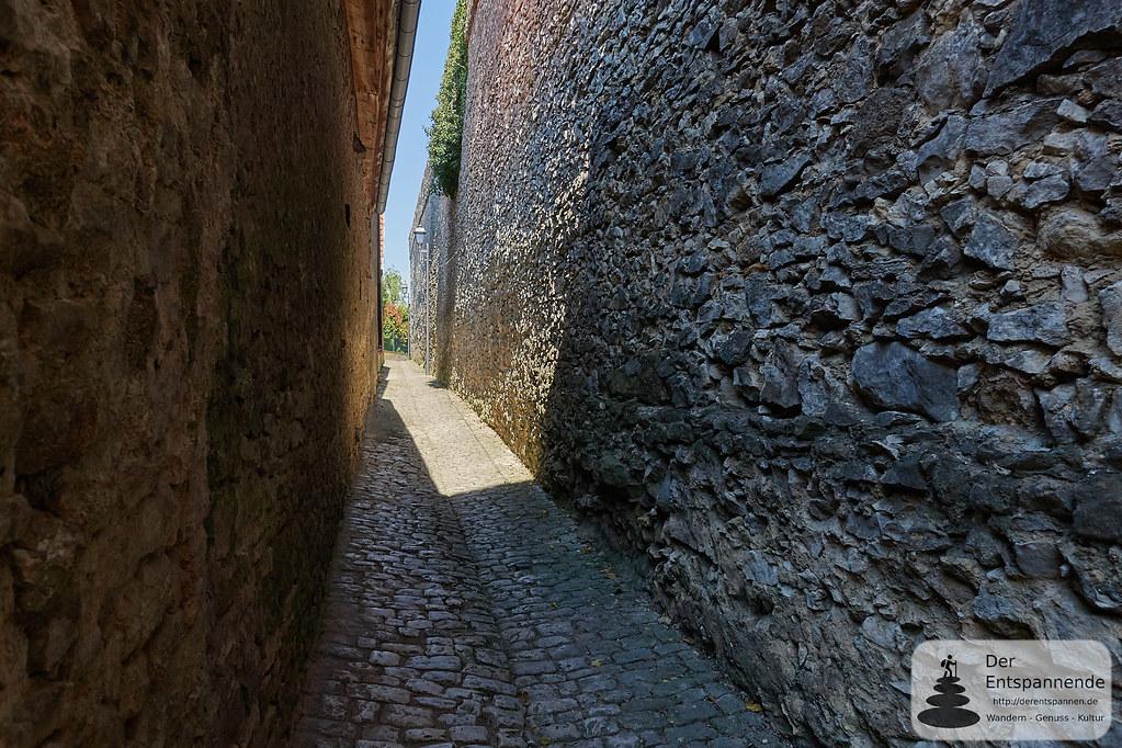 Die Fleckenmauer von Flörsheim-Dalsheim
