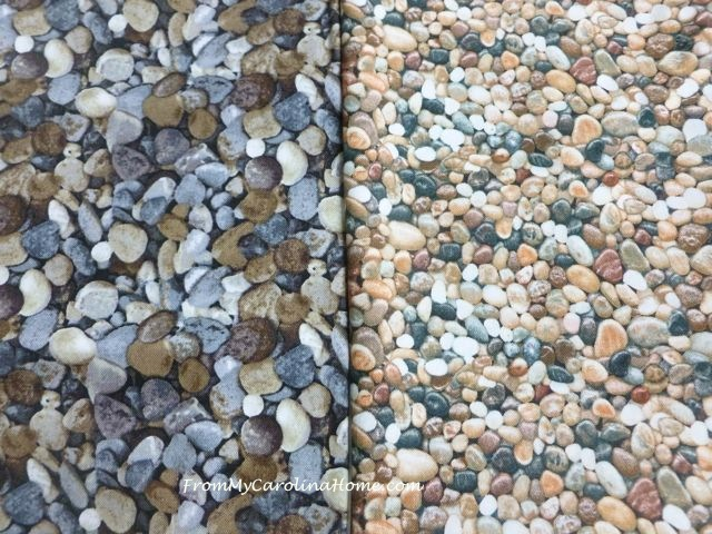 Pebble Fabrics at From My Carolina Home