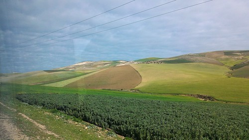 On the road from Fes to Tetouan, Morocco
