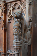 wolf with St Edmund's head