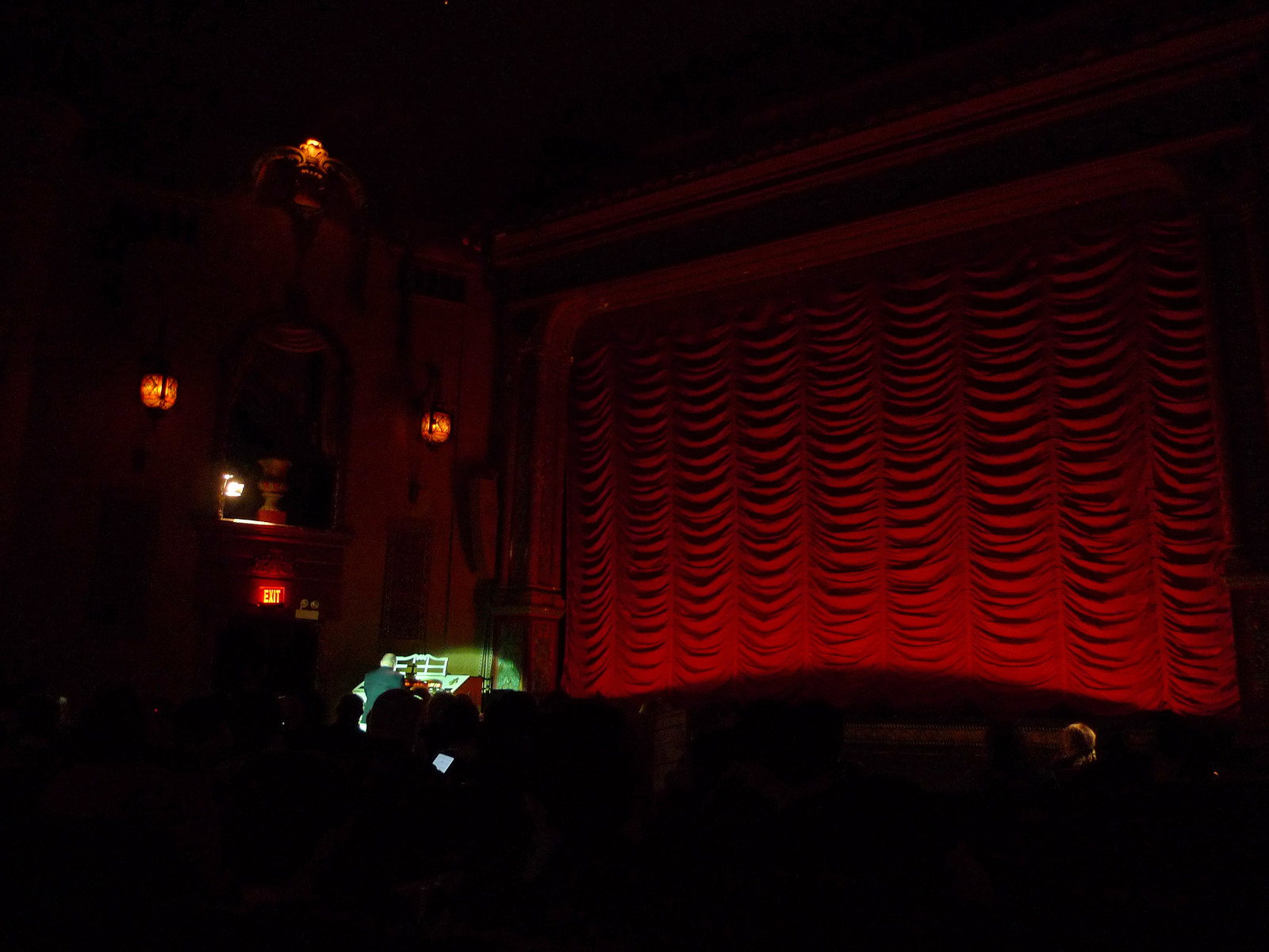 before the screening of Industrial Symphony No. 1 at David Lynch film retrospective (Music Box Theatre) | by find myself a city (1001 Afternoons in Chicago)