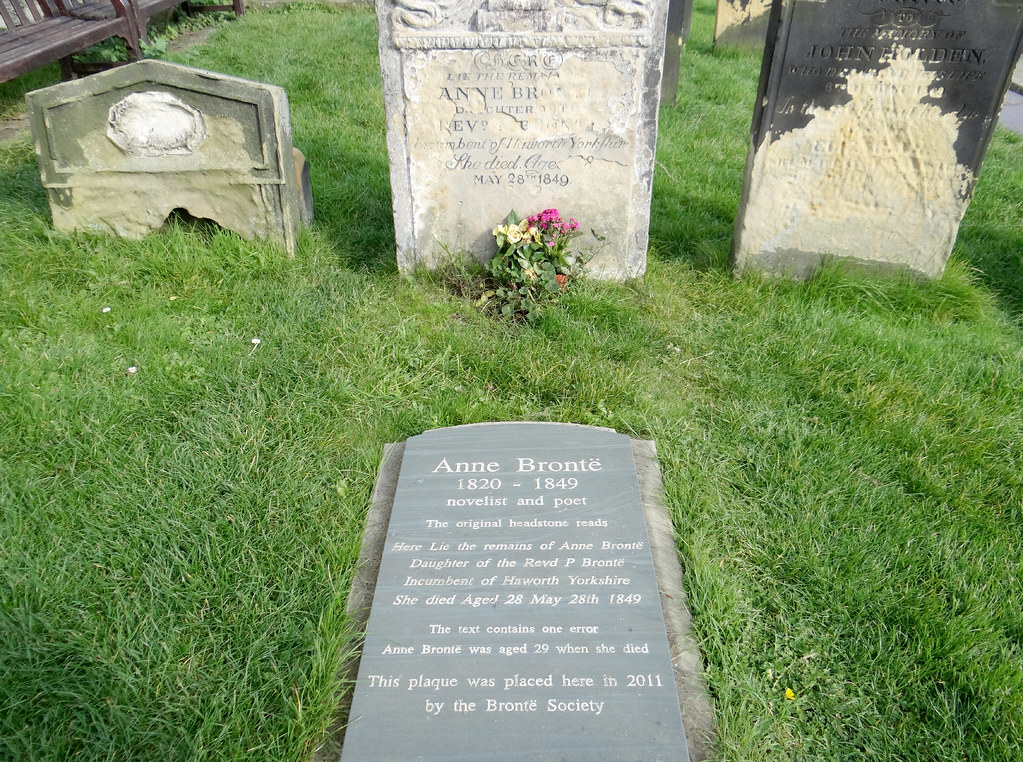 10-literary-places-to-visit-in-england-anne-brontes-grave-scarborough