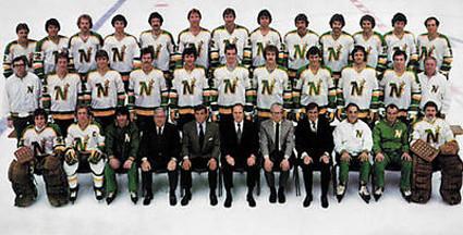 1980-81 Minnesota North Stars team