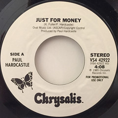 PAUL HARDCASTLE:JUST FOR MONEY(LABEL SIDE-A)