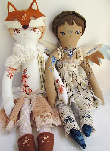 handmade dolls at little dear