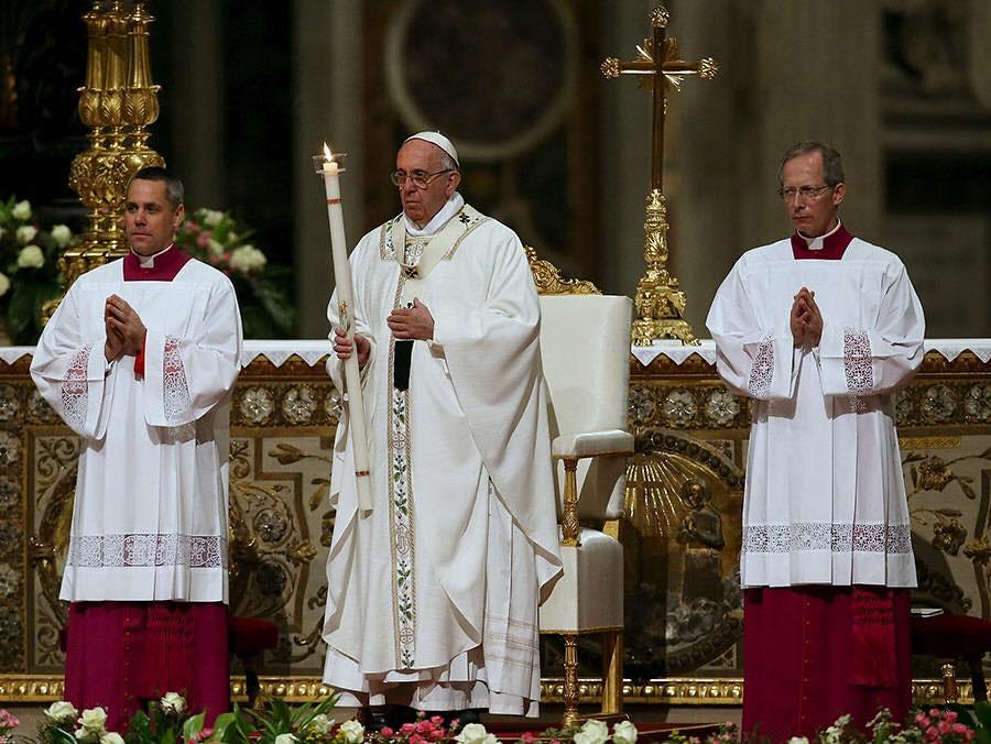 Đức Thánh Cha Chủ Sự Lễ Vọng Phục Sinh