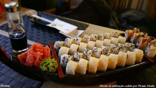 Sushi em São Paulo