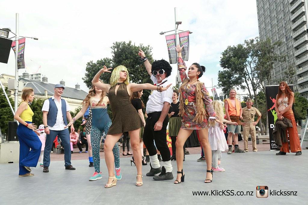 Disco Flashmob - Aotea Square