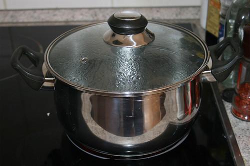 09 - Wasser erhitzen / Bring water to a boil