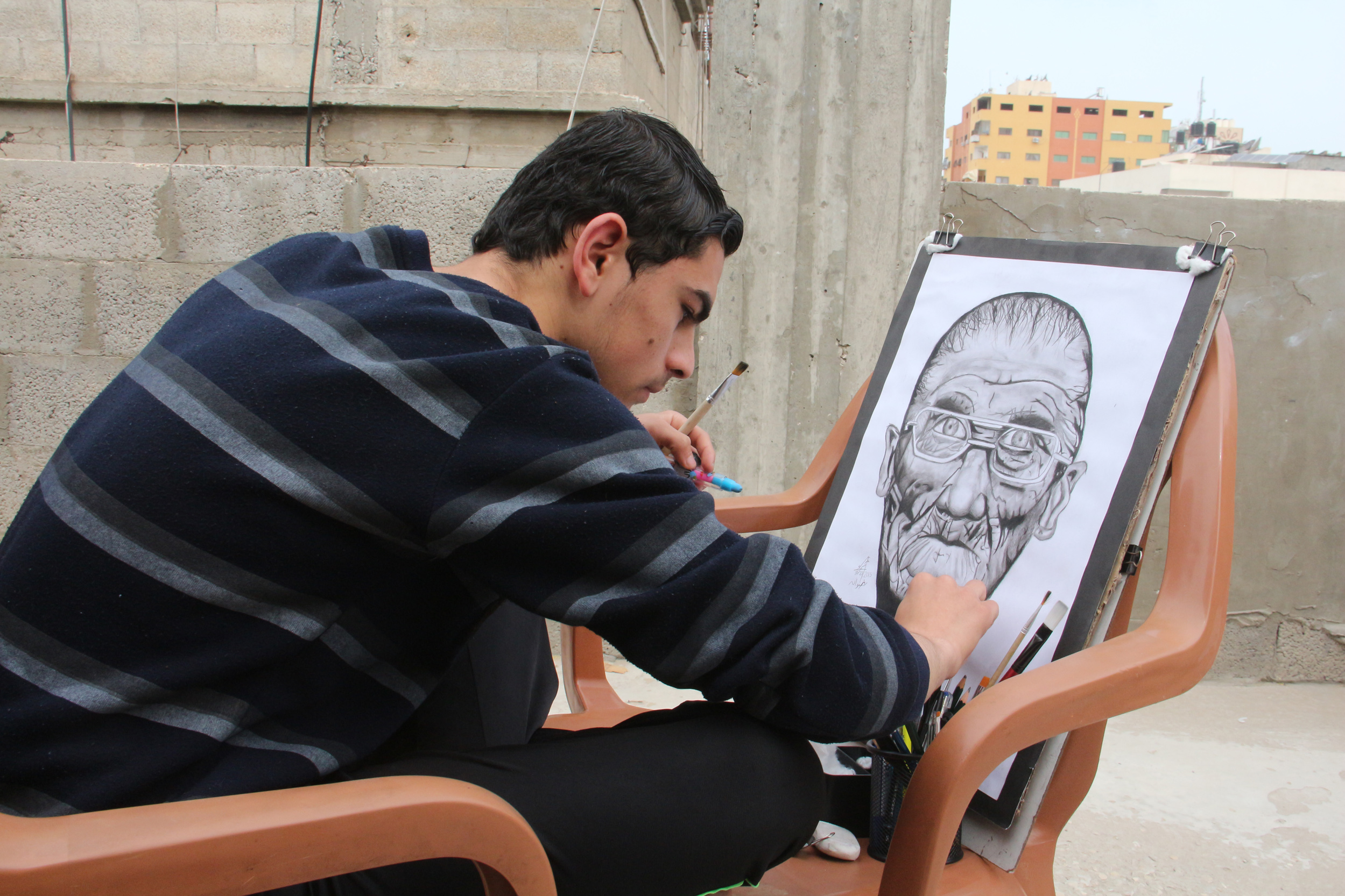 عمر رضوان غزة  (13)