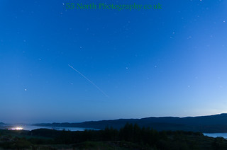 ISS over Kintyre | by 55 North Photography