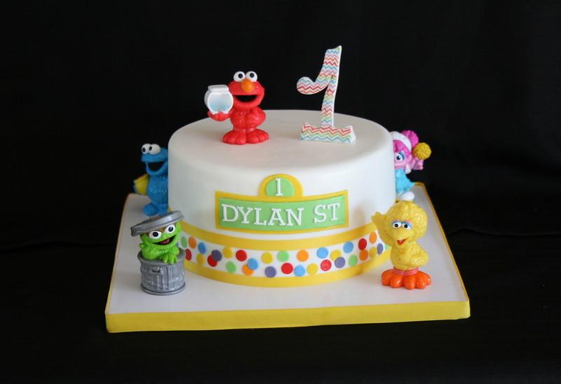 Elmo Cake Birthday