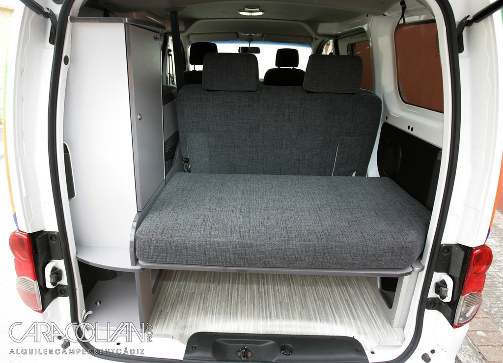 nv200 camper int maletero 1 a l nissan nv200 camper. Black Bedroom Furniture Sets. Home Design Ideas
