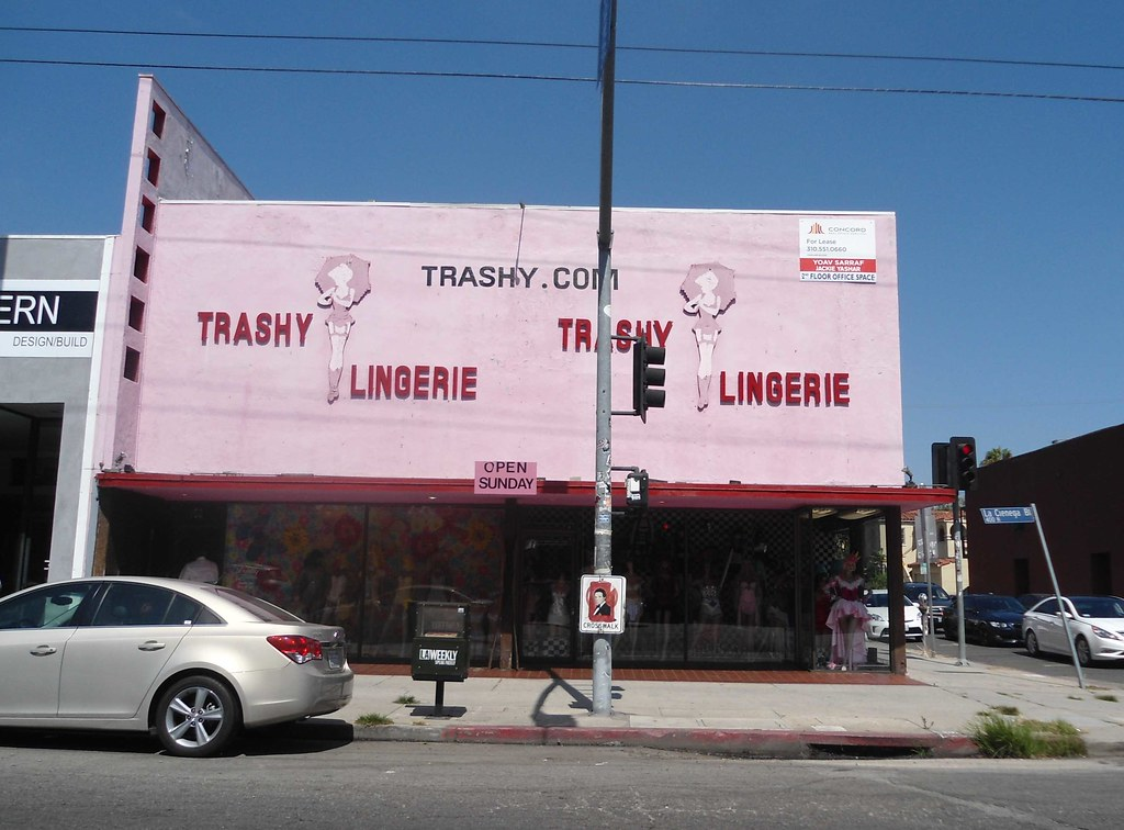 8838362ce5 by PatricksMercy Trashy Lingerie on La Cienega Blvd West Hollywood near the  Beverly Center.