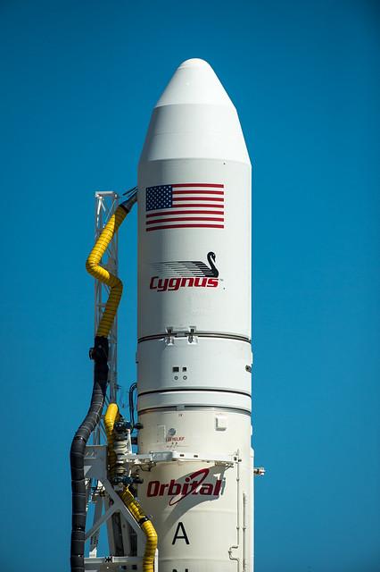 Cygnus spacecraft logo