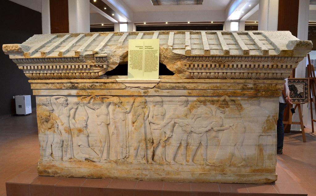 The Polyxena Sarcophagus Polyksena Lahiti 15 Decorated