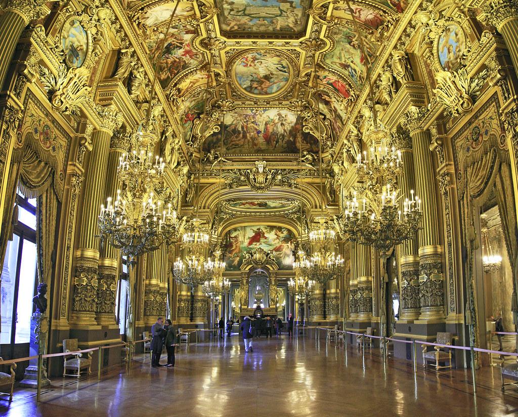 The Grand Foyer Palais Garnier : Paris the grand foyer at palais garnier