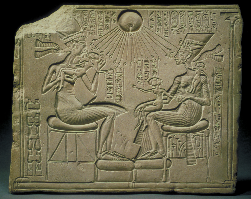 Akhenaten And His Family
