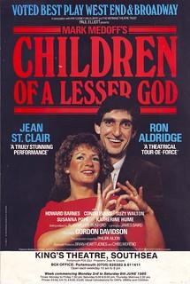 Children Of A Lesser God By Mark Medoff Dir