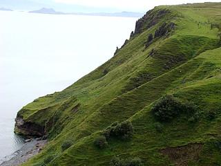 033 Uitzichtpunt een aantal kilometers voor Kilt Rock bij Lealt